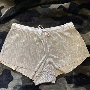VS silky sleep shorts